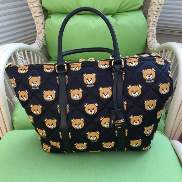 ce27c68a1c Moschino Bags | Nwt Couture Bear Tote Bag | Poshmark